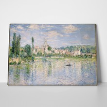 Monet summer in vetheuil