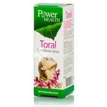 Power Health TORAL SPRAY - Πονόλαιμος, 20ml