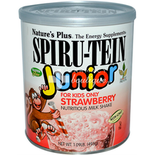 Natures Plus Spiru-Tein Junior Strawberry - Φράουλα, 495gr