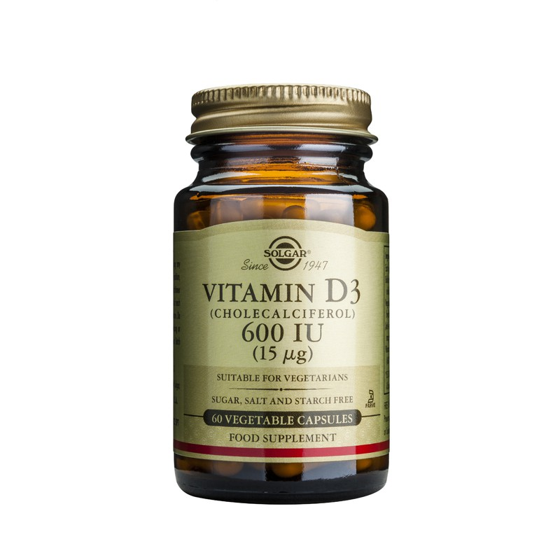 Vitamin D3 600IU softgels