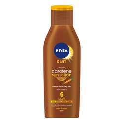 NIVEA SUN LOTION BRONZE CAROTEN SPF6 200 ml
