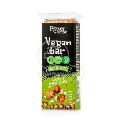 POWER HEALTH - POWER OF NATURE Vegan Bar Almond & Peanut Flavor - 45g