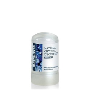 Macrovita natural crystal deodorant mini stick 60gr