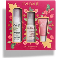 Caudalie Set Vinosource SOS Serum 30ml + Δώρο Caudalie Vinosource Creme Sorbet Hydratante,15ml + Δώρο Caudalie Mousse Nettoyante, 50ml