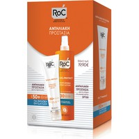 ROC SOLEIL-PROTECT FACE CREAM SPF50 50ML+BODY SPRAY SPF30 200ML