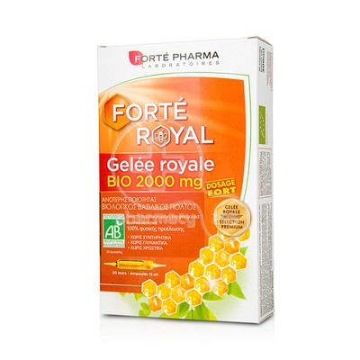 FORTE PHARMA - Gelee Royale Bio 2000mg - 20amp.x15ml