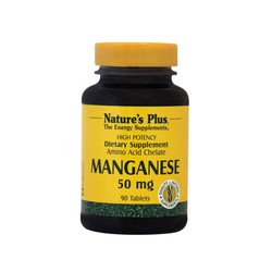 Nature's Plus Manganese 50mg  90 Tαμπλέτες
