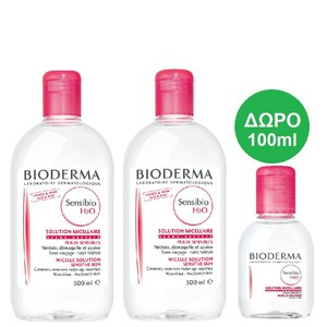 Bioderma sensibio 2x500ml  100ml