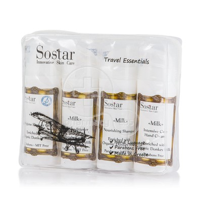 SOSTAR - ΤΟ ΓΑΛΑ Travel Essentials - 4X25ml
