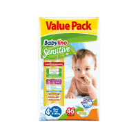 BABYLINO - VALUE PACK Babylino Sensitive Maxi Plus No4+ (9-20 Kg) - 46 πάνες