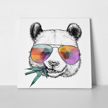 Funny panda glasses 739821739 a