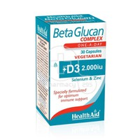 HEALTH AID - Beta Glucan Complex - 30 caps