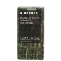 KORRES EAU DE TOILETTE MOUNTAIN PEPPER 50ML
