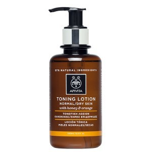 APIVITA Toning lotion with honey & orange 200ml