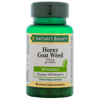 NATURE'S BOUNTY HORNY GOAT WEED 250MG 60CAPS
