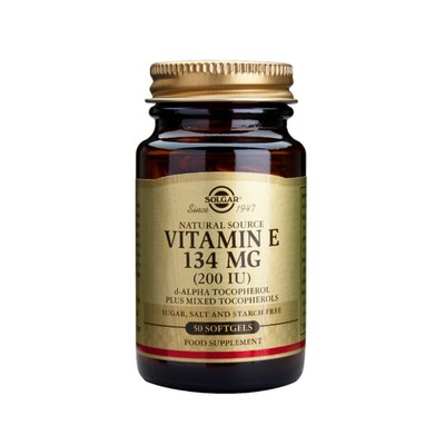 Solgar - Vitamin E 200 IU - 50softgels