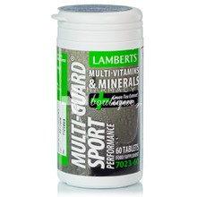 Lamberts MULTI GUARD SPORT Performance - Πολυβιταμίνη, 60 tabs