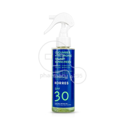 KORRES - Cucumber Hyaluronic Splash SPF30 - 150ml