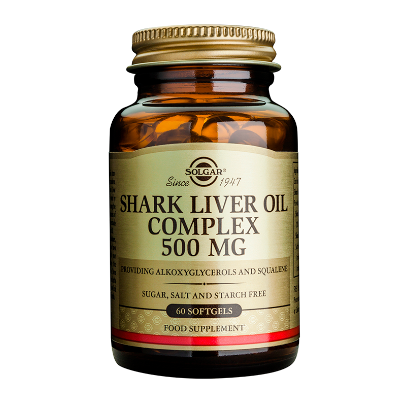 Shark Liver Oil 500mg softgels