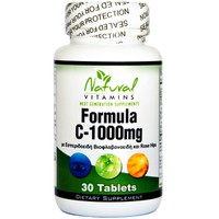 NATURAL VITAMINS VIT C-1000 WITH BIOFLAVONOIDS 530MG 30 TABS