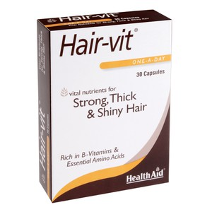 HEALTH AID Hair-vit 30caps