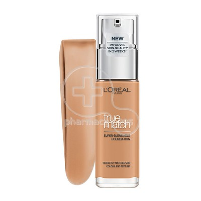 L'OREAL PARIS - TRUE MATCH Super Blendable Foundation 7.D/7.W (Ambre Dore) - 30ml