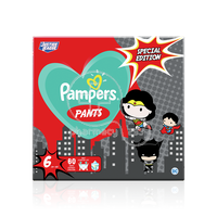 PAMPERS - SPECIAL EDITION Pants No6 (15+kg) - 60 πάνες