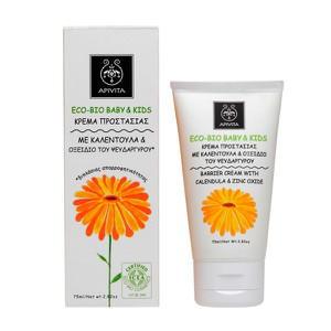 APIVITA Eco-bio baby & kids barrier cream 75ml