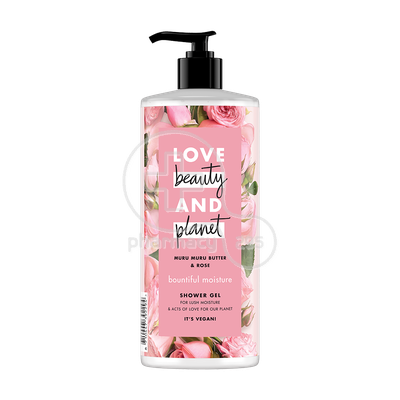 LOVE BEAUTY AND PLANET - Αφρόλουτρο Muru Muru Butter And Rose - 500ml