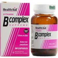 HEALTH AID VITAMIN-B COMPLEX 90CAPS