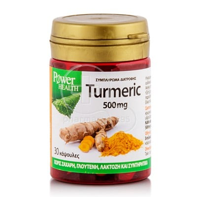POWER HEALTH - Turmeric 500mg - 30caps