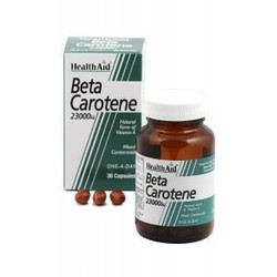 Health Aid Beta-Carotene Natural 15mg 30caps