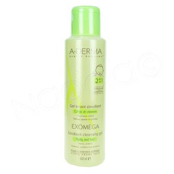 A-Derma Exomega Emollient Cleansing Gel 500ml