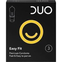 Duo Easy Fit 3τμχ - Προφυλακτικά