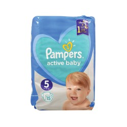 PAMPERS ACTIVE BABY ΠΑΝΕΣ Νο 5 15 ΤΜΧ