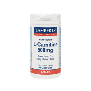 LAMBERTS L-Carnitine 500mg 60caps