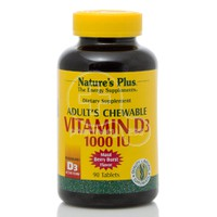 NATURE'S PLUS - Vitamin D3 1000IU - 90chew.tabs