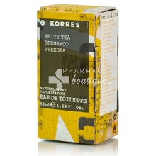 Korres Eau de Toilette WHITE TEA - Γυναικείο Άρωμα, 50mL