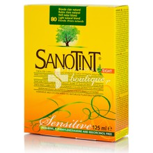 Sanotint Hair Color Light - 80 Light Natural Blonde, 125ml