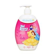 Helenvita Disney® Kids 2 in 1 Shampoo & Shower Gel Princess 500ml