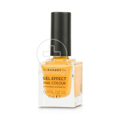 KORRES - GEL EFFECT Nail Colour No91 Sunshine - 11ml