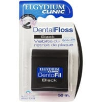 ELGYDIUM CLINIC DENTAL FLOSS BLACK 50M