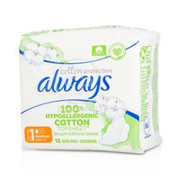 ALWAYS - COTTON PROTECTION Normal (No1) - 12τεμ.