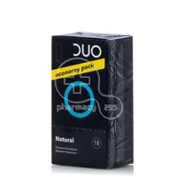 DUO - Προφυλακτικά Natural Economy Pack- 18pcs