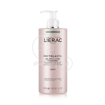 LIERAC - PHYTOLASTIL Gel Prevention Vergetures - 400ml