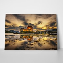 Castle sunset in scotland 373763311 a