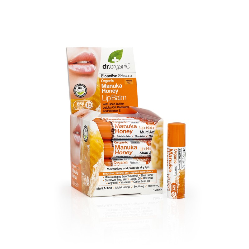Organic Manuka Honey Lip Balm