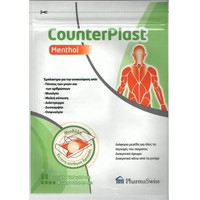 PHARMA SWISS COUNTERPLAST MENTHOL 6ΤΕΜ