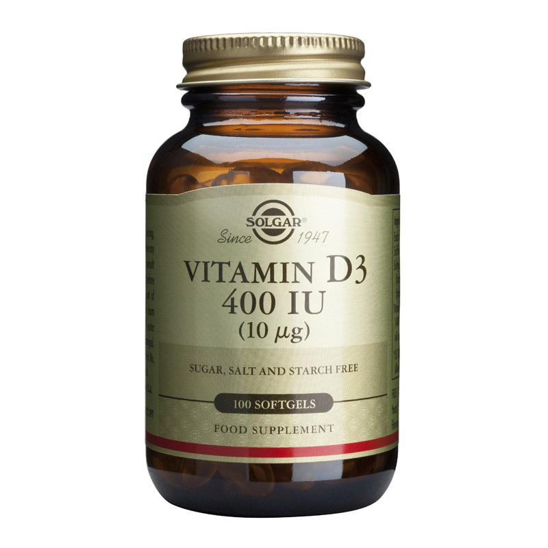 Vitamin D3 400IU softgels