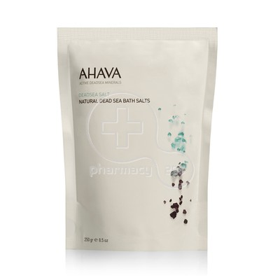 AHAVA - DEADSEA SALT Natural Dead Sea Bath Salts - 250gr